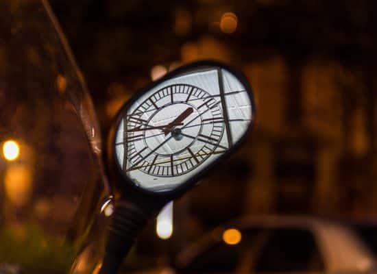 Expo 2015, Horloge, Rétroviseur, Pour 1 Clic, Photographe,