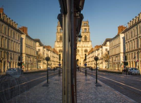 Cathédrale, Effet Mirroir, Expo 2015, Vitrine, Pour 1 Clic, Photographe, Photographie, Le Lion d'Angers