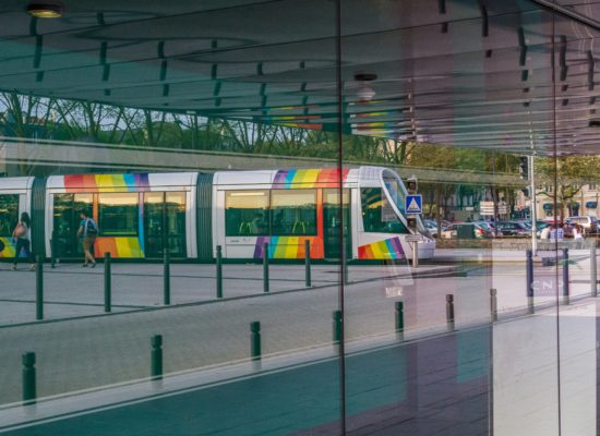 Expo 2015, Tram, Vitrine, Pour 1 Clic, Photographe, Photographie, Le Lion d'Angers